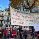 Manifestation pour l'IEF
